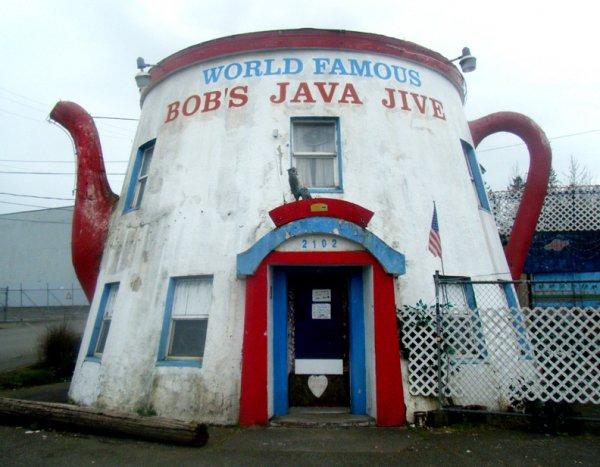 Bob's Java Jive, Tacoma, Nalley Valley, WA, USA