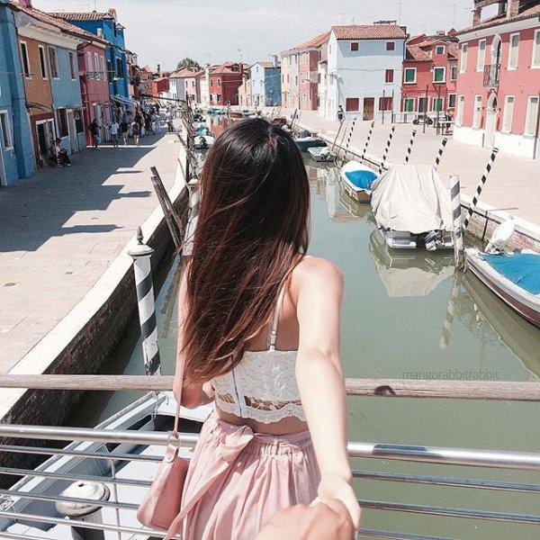vacation, boating, watercraft rowing, sea, girl,