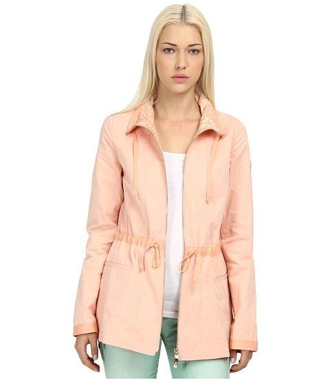 Armani Jeans Waist Band Detail Rain Coat