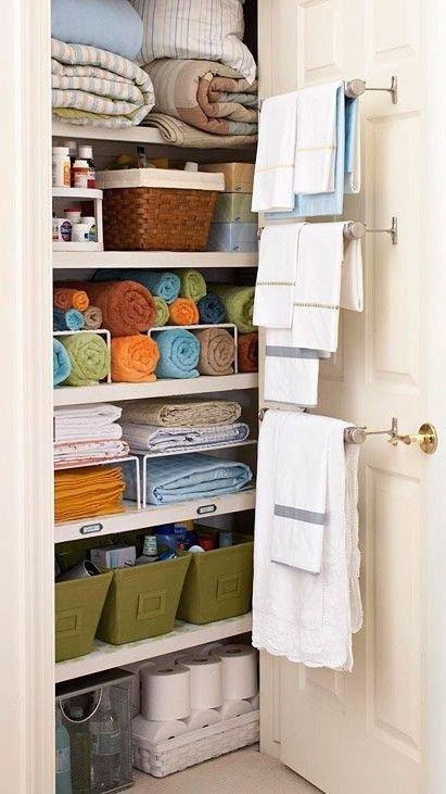 Shelf Separators and Baskets