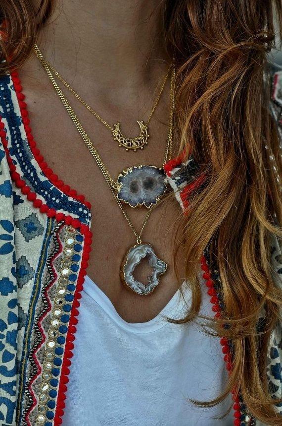 Simona Mar 3 Layers Necklace