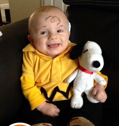 charlie brown source 35 cute baby halloween costume