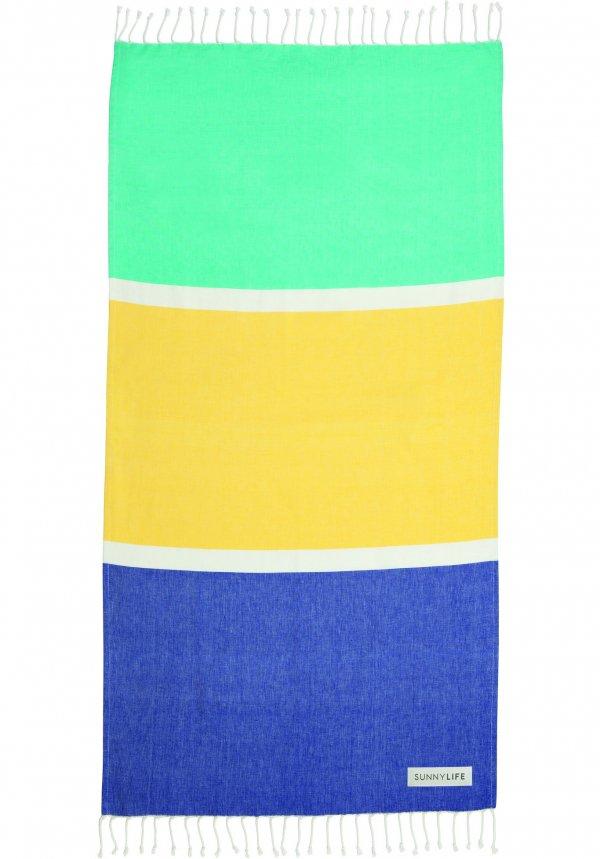 Color Blocks in Summer Shades