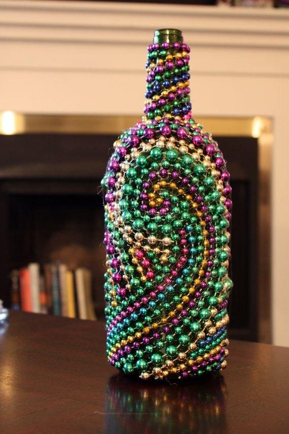 Bead Wine Bottle