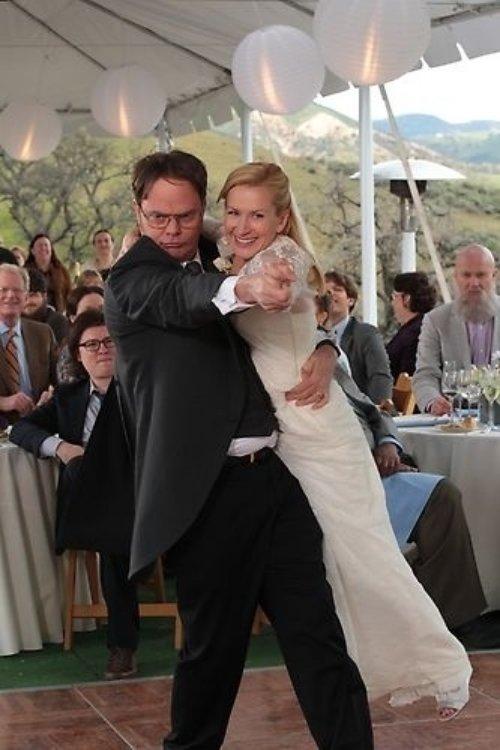 Dwight and Angela