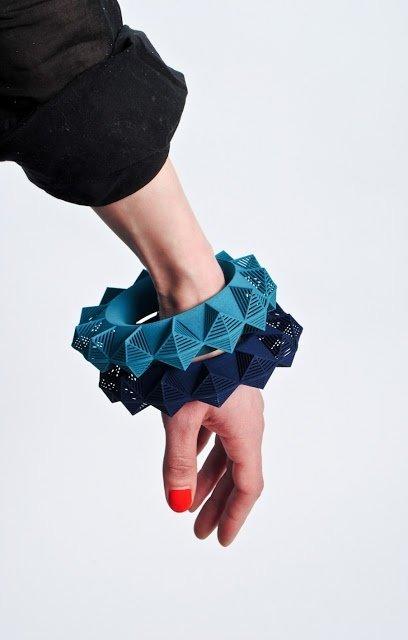 3D Bracelets by Theresa Burger
