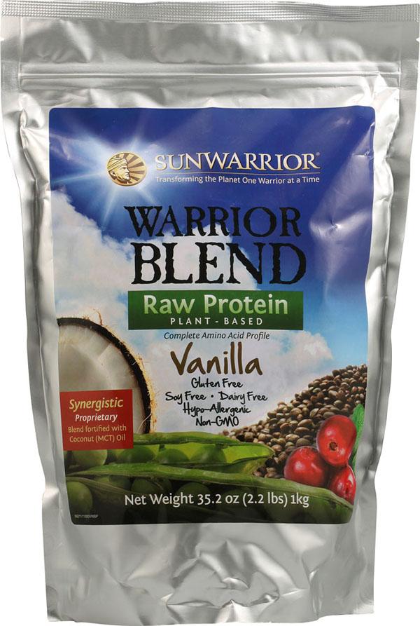 Sunwarrior Warrior Blend Raw Protein