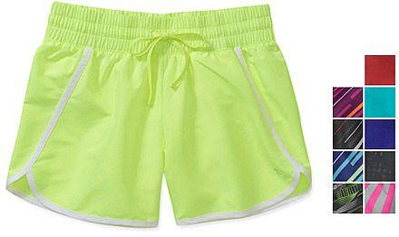 Danskin Now Women's Woven Running Shorts, 2-Pack from Walmart