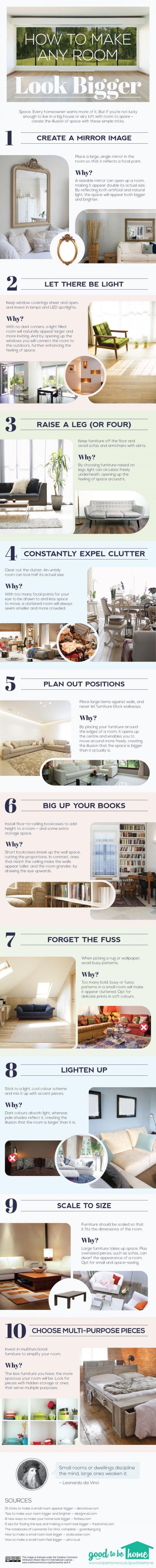 Make a Room Look Bigger