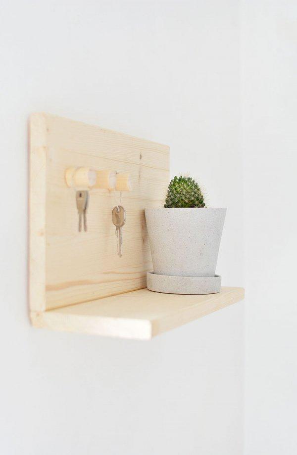 Key Holder + Shelf