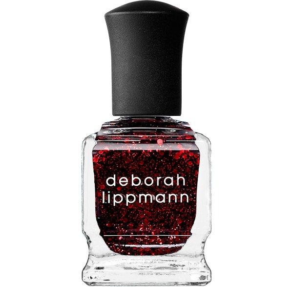 Deborah Lippmann Glitter Nail Polish in Ruby Red Slippers