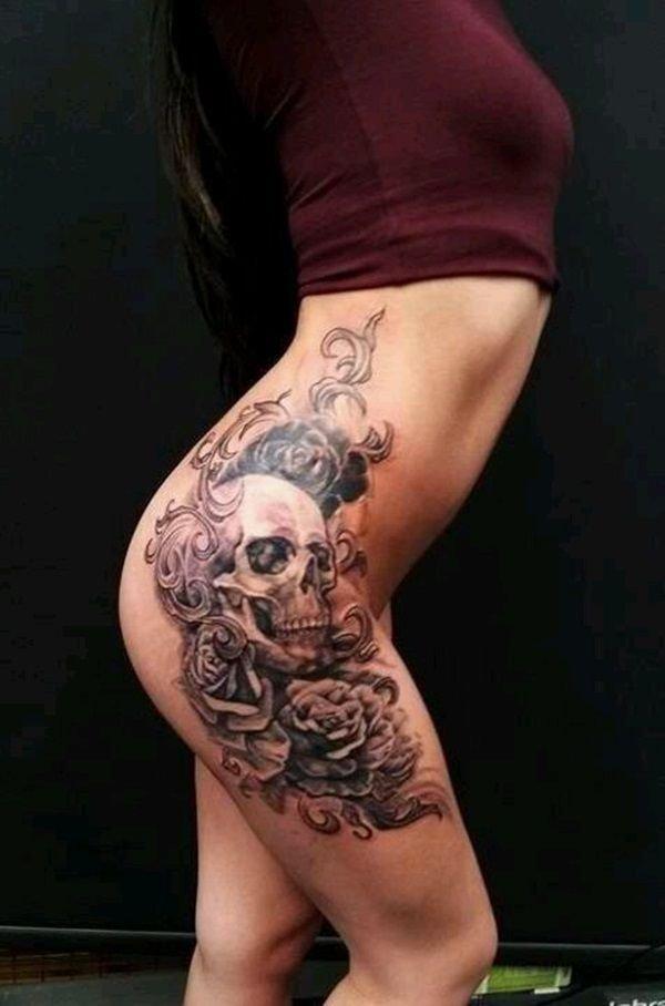 Sexy Hip Tattoo