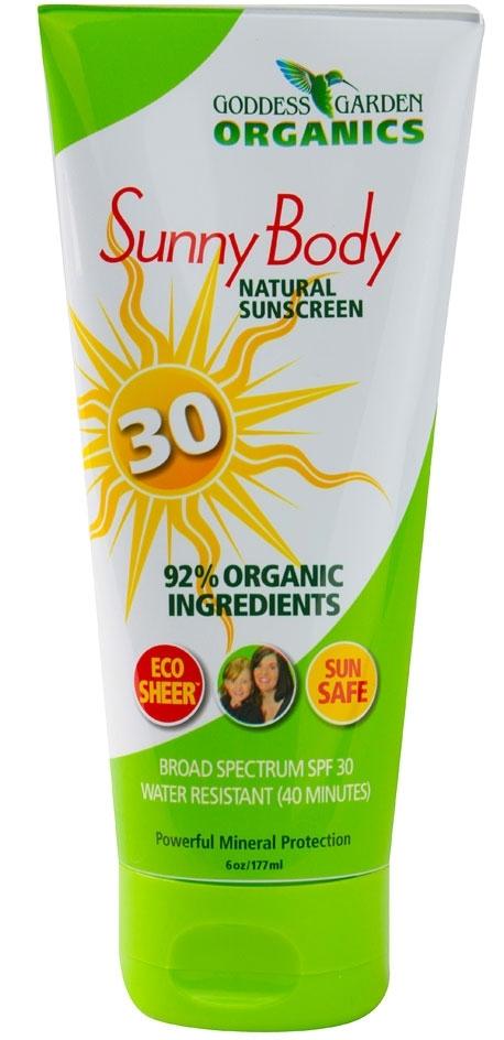Goddess Garden Organics Sunscreen