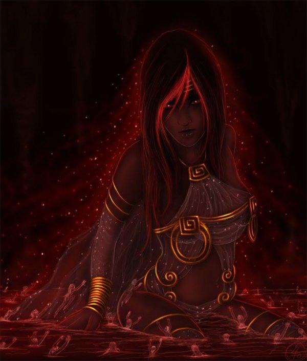 Styx - Goddess of the River Styx