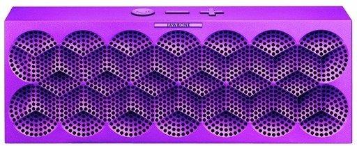 Mini Jambox by - Wireless Bluetooth Speaker, Purple Snowflake
