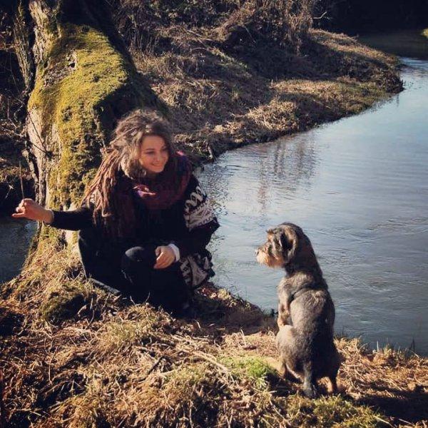 Dog, Canidae, Wilderness, Human, Sky,