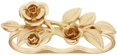Talullah Tu Three Ringer Flower Ring