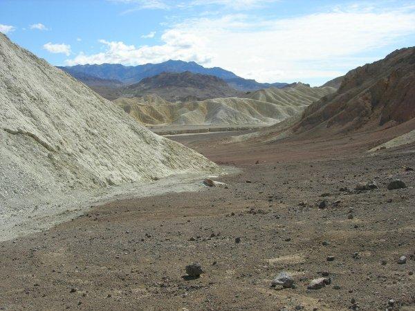 Twenty Mule Team Canyon, Death Valley, USA