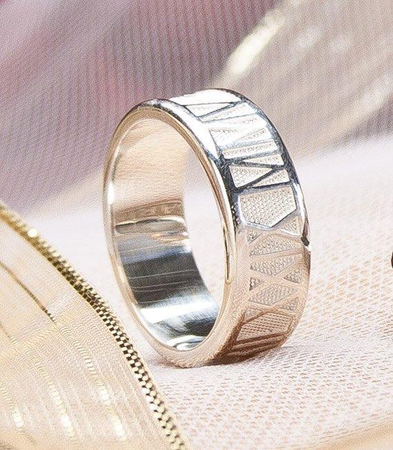 A Roman Numerals Ring