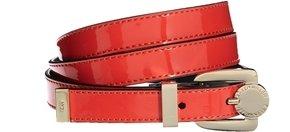 Karen Millen Patent Leather Skinny Belt