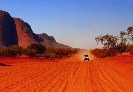 Red Road to Kata Tjuta, Centre of Australia