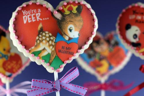Vintage Valentine's Day Cookies...
