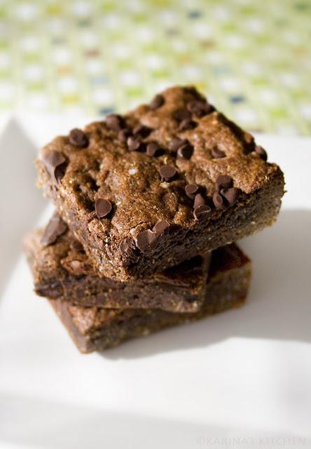 Chocolate Quinoa Brownies