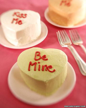 Mini Heart Shaped Cake...