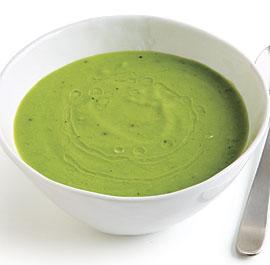 Pea and Parmigiano Soup