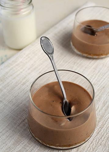 Nutella Cheesecake Pots