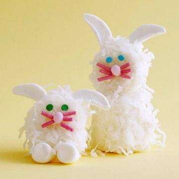Coconut Marshmallow Bunnies