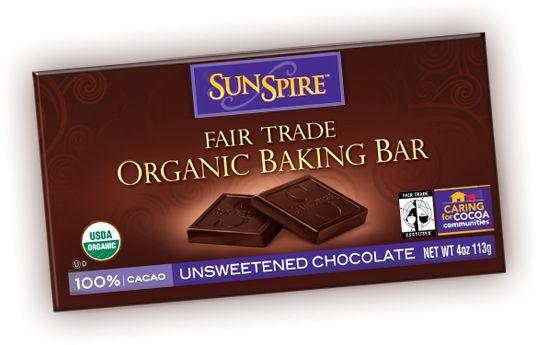 Sunspire Organic Fair Trade Chocolate