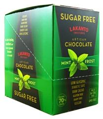 Sugar-Free Mint Dark Chocolate by Body Ecology