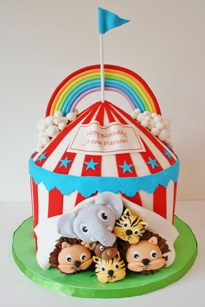 Circus Cake…