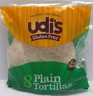 Udi's Gluten-Free Tortillas
