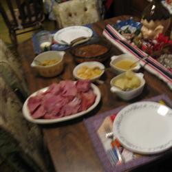 Sweet Slow-cooked Ham