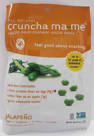 Crunch Ma-Me Jalepeno Endamame Snack
