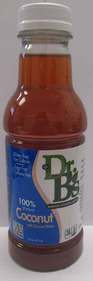 Dr. B's Coconut Water Microbrewed Gluten-Free Tea
