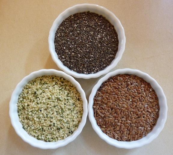 Hemp and Chia Seeds