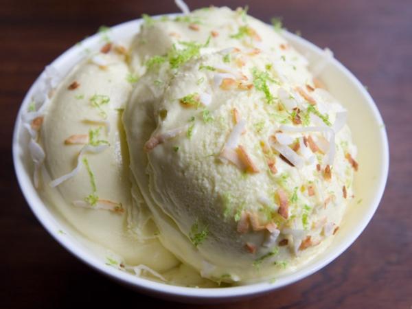 Coconut Lime Ice Cream