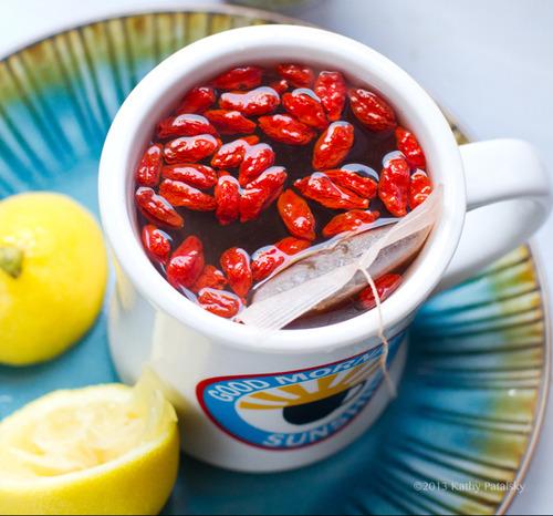 Goji Lemon Tea