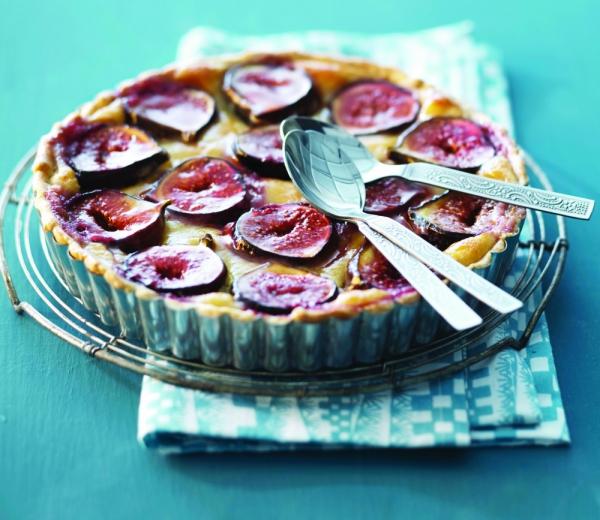 Lemon and Fig Cheesecake