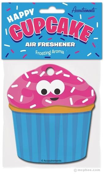 Happy Vanilla Cupcake Air Freshener