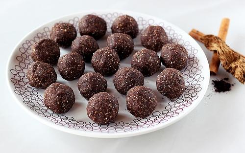 Mexican Mocha No-Bake Cookie Balls