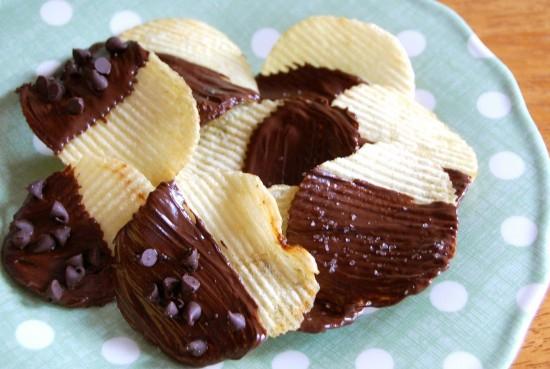 Potato Chips & Fudge