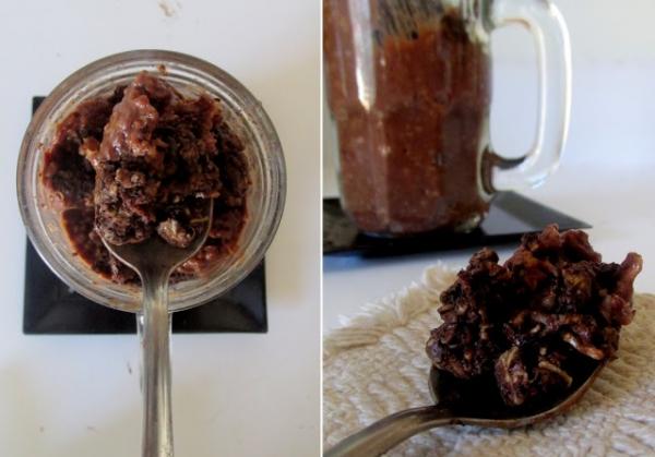 Chocolate Brownie Batter Blizzard