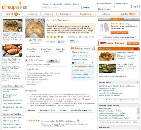 Brunch Pockets at allrecipes.com
