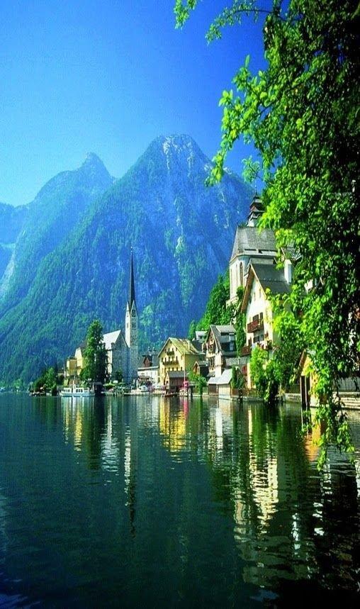 landform,reflection,body of water,lake,river,