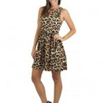 Short Animal Print Dress