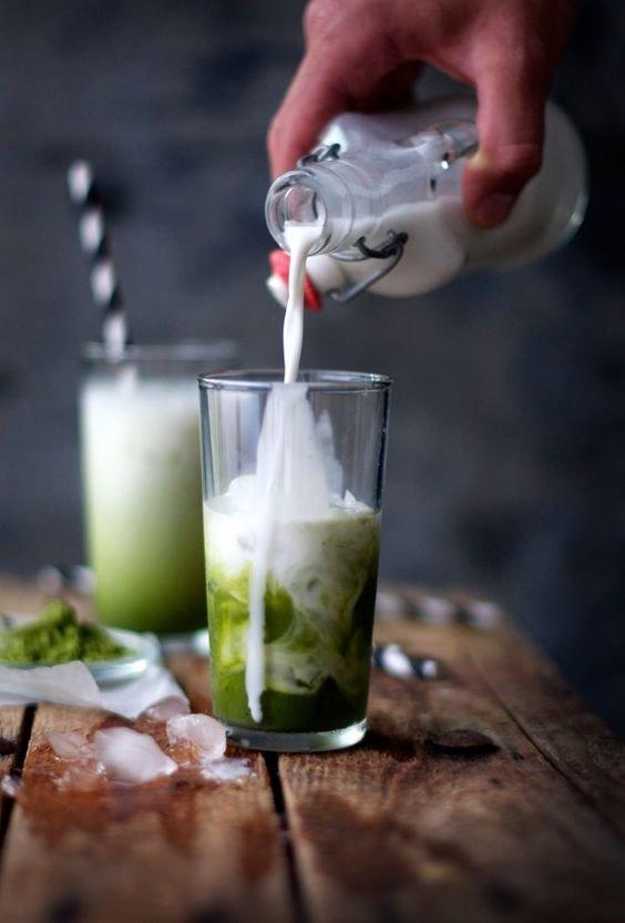 Greenyliscious Matcha Frappe